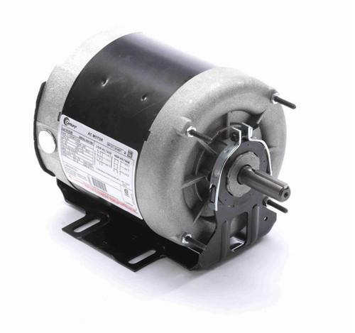 H1026 Century 1/4 hp (1 speed) 200-230/460V 1200 RPM TENV 56 Frame 3 Phase Resilient Base Motor