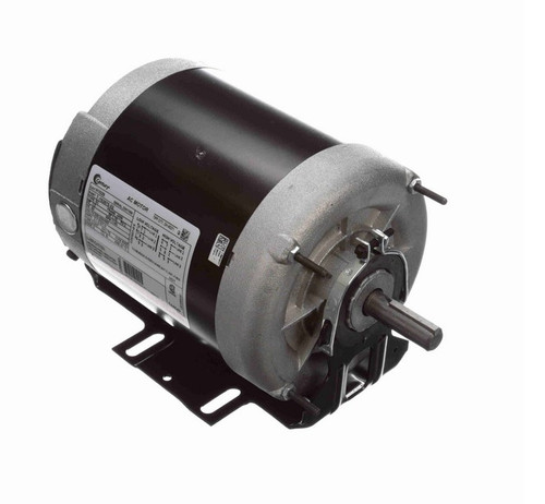 H1029 Century 1/2 hp (1 speed) 200-230/460V 1200 RPM TENV 56 Frame 3 Phase Resilient Base Motor