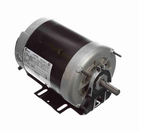 H1030L Century 3/4 hp (1 speed) 200-230/460V 1800 RPM TENV 56 Frame 3 Phase Resilient Base Motor