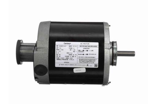 AR2024 Century 1/4 hp (1 speed) 115V 1800 RPM ODP 48 Frame Split Phase Resilient Base Motor