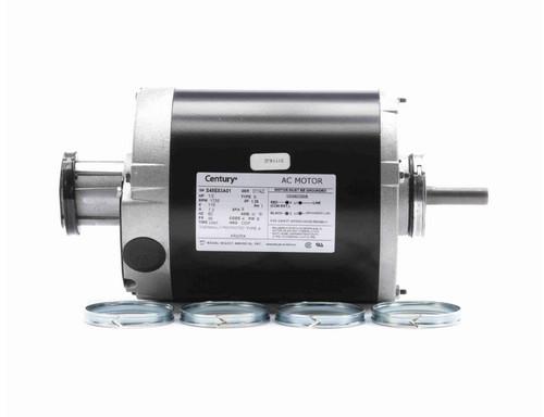 AR2054 Century 1/2 hp (1 speed) 115V 1800 RPM ODP 48 Frame Split Phase Resilient Base Motor