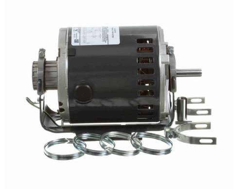 4733 Marathon 1/4 hp (1 speed) 115V 1800 RPM Open 48Y Frame Split Phase Resilient Base Motor