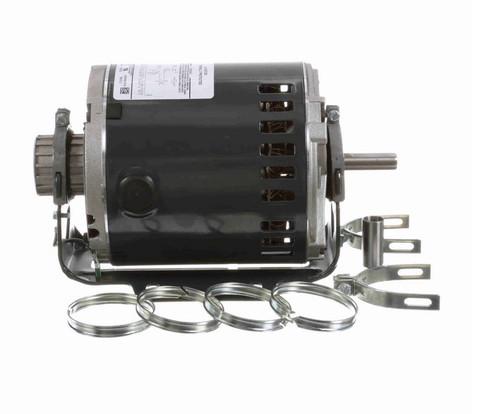 4734 Marathon 1/3 hp (1 speed) 115V 1800 RPM Open 48Y Frame Split Phase Resilient Base Motor
