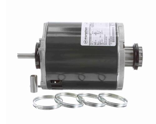 4738 Marathon 1/3 hp (1 speed) 230V 1800 RPM ODP 48Y Frame Split Phase Resilient Base Motor