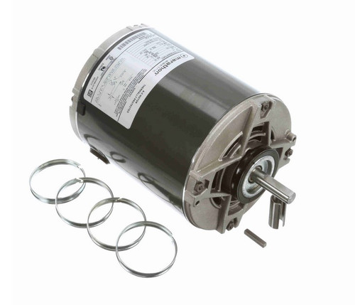 4739 Marathon 1/2 hp (1 speed) 230V 1800 RPM ODP 48Y Frame Split Phase Resilient Base Motor