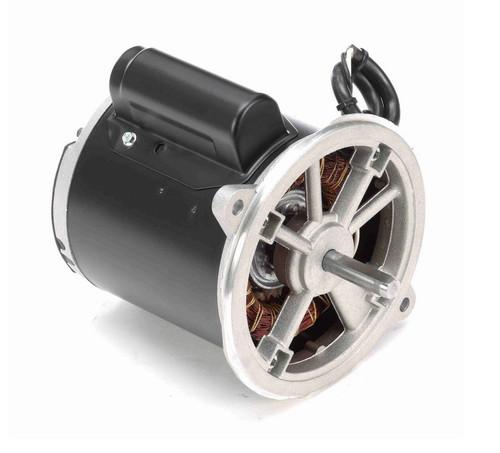O012 Marathon 1/5 hp (1 speed) 115/230V 3600 RPM 48N Frame Cap Start Oil Burner Motor