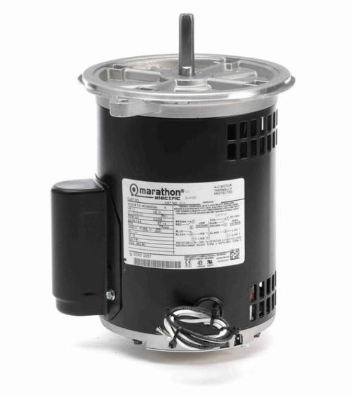 O010 Marathon 1/3 hp (1 speed) 115/208-230V 3600 RPM ODP 48NZ Frame Cap Start Oil Burner Motor