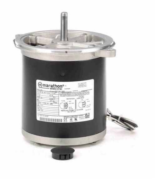 O003 Marathon 1/3 hp (1 speed) 115V 1800 RPM 48N Frame Split Phase Oil Burner Motor