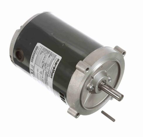 O200 Marathon 1/4 hp (1 speed) 115V 3600 RPM ODP 56C Frame Split Phase Oil Burner Motor