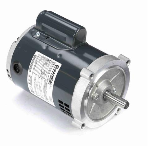 O211 Marathon 1/3 hp (1 speed) 115/208-230V 3600 RPM ODP 56C Frame Cap Start Oil Burner Motor