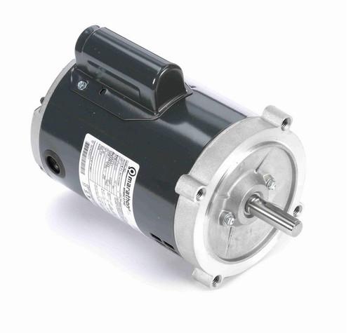 O213 Marathon 1/2 hp (1 speed) 115/208-230V 3600 RPM ODP 56C Frame Cap Start Oil Burner Motor