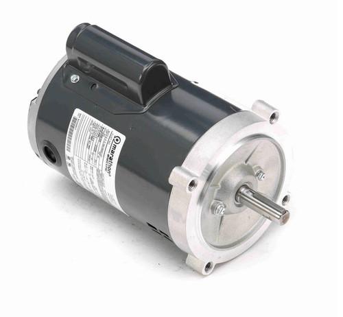 O215 Marathon 3/4 hp (1 speed) 115/208-230V 3600 RPM ODP 56C Frame Cap Start Oil Burner Motor