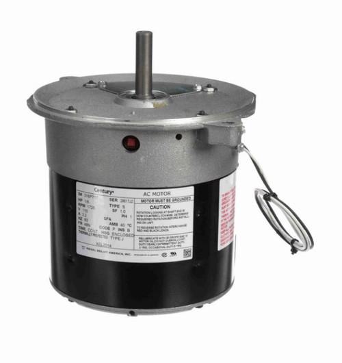 XEL2014 Century 1/6 hp (sleeve bearing) 115V 1800 RPM TEAO 48N Frame Split Phase Oil Burner Motor