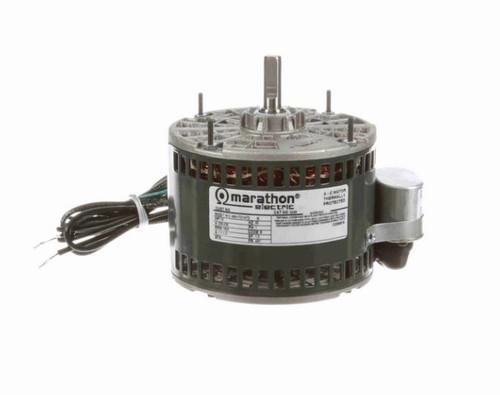X269 Marathon 1/6 hp 208-230V 1625 RPM OPAO 48Y Frame PSC Commercial Refrigeration Motor