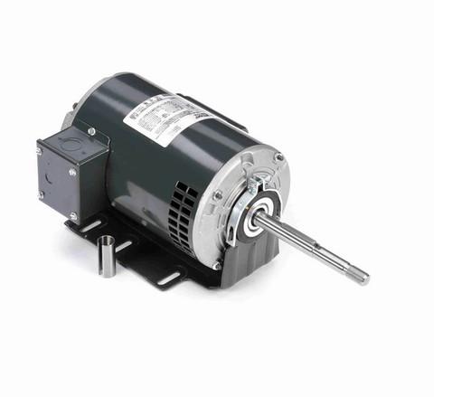 X602 Marathon 1/2 hp (1 speed) 115/208-230V 1800 RPM ODP 56Z Frame PSC Resilient Base Motor