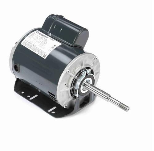 X603 Marathon 3/4 hp (1 speed) 115/208-230V 1800 RPM ODP 56Z Frame PSC Resilient Base Motor