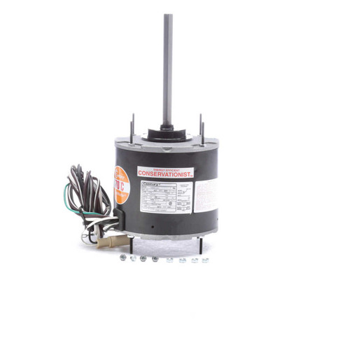 FSE1036SF Century 1/3 hp 1075 RPM, 1-Speed, 208-230V, 70°C Condenser Motor