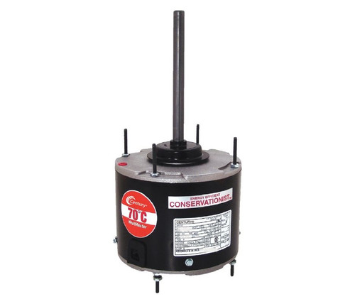 FE1056SF Century 1/2 hp 1075 RPM, 1-Speed, 208-230V, 70°C Condensor Motor