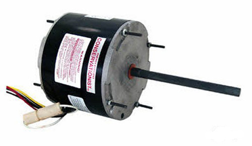 Model 7FSE1056 Century 1/2 hp 1075 RPM, 2-Speed, 277 Volt, 60°C Condenser Motor