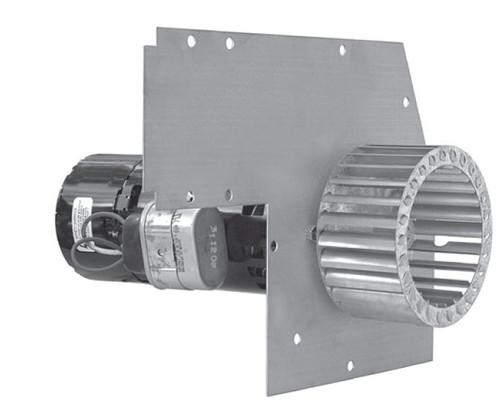 York Furnace Draft Inducer Blower (024-24115-714, 024-24115-018) Rotom # FB-RFB232