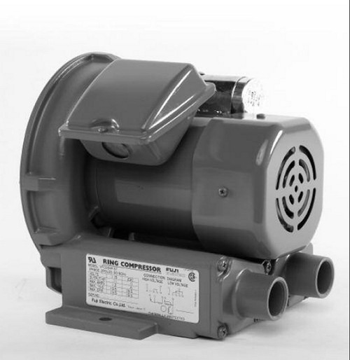 VFC080P-5T Fuji Regenerative Blower .11 hp, 1.2/.06 amps,115/230V
