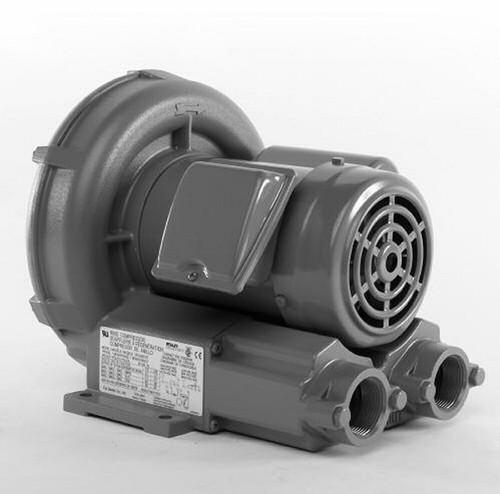 VFC300P-5T Fuji Regenerative Blower .51 hp, 5.0/2.5 amps, 115/230V