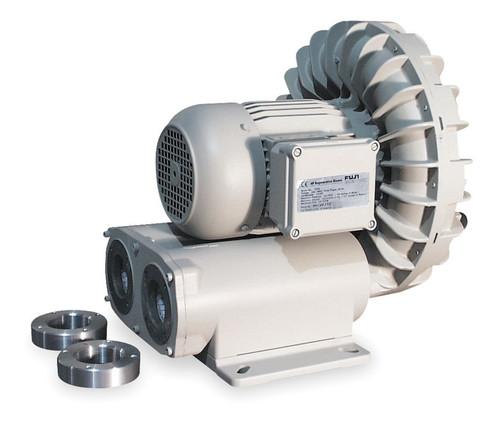 VFD2S Fuji Regenerative Blower 1 hp, 7.0 amps, 115V