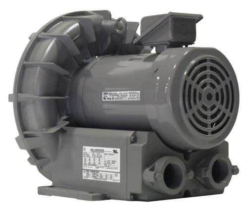 VFZ501A-7W Fuji Regenerative Blower 2.7 hp, 208-230/460V