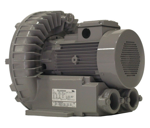 VFZ601A-7W Fuji Regenerative Blower 5 hp, 208-230/460V