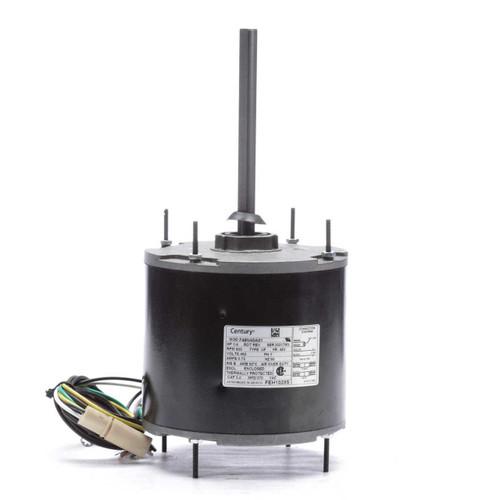 FEH1028S Century 1/4 hp 850 RPM, 1-Speed, 460V, 60°C Condenser Motor
