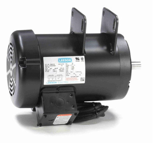 120997.00 Leeson |  2 hp 3450 RPM Delta Unisaw Electric Motor 115/230 Volts
