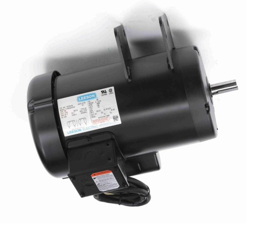120728.00 Leeson |  3 hp 3450 RPM Delta Unisaw Electric Motor 230 Volts