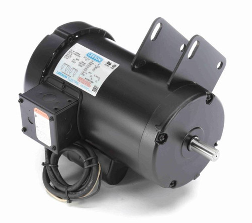120998.00 Leeson |  4 hp 3450 RPM Delta Unisaw Electric Motor 230 Volts