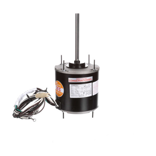 FEH1036SF Century 1/3 hp 1075 RPM, 1-Speed, 460V, 70°C Condenser Motor