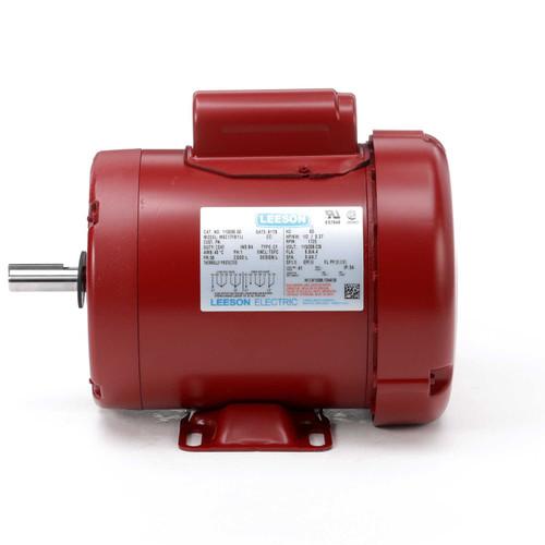 110086.00 Leeson |  1/2 hp 1725 RPM 56 Frame TEFC (Farm Duty) 115/208-230 volts