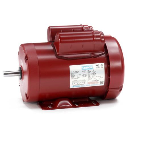 1.5 hp 1725 RPM 56 Frame TEFC (Farm Duty) 115/208-230V Leeson Electric Motor # 110089.00