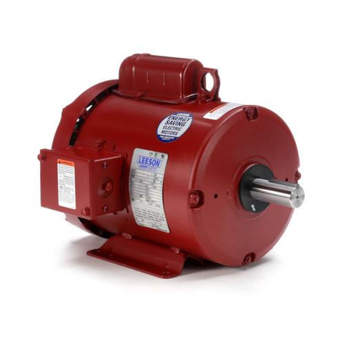 2 hp 1740 RPM 182T Frame TEFC (Farm Duty) 115/208-230V Leeson Electric Motor # 131541