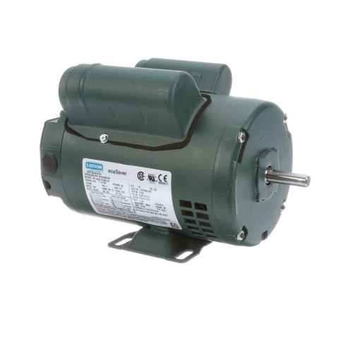 1/4 hp 1725 RPM 48 Frame 115/208-230V Open Drip Leeson Electric Motor # E101423