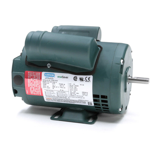 1/4 hp 1725 RPM 48 Frame 115/208-230V Open Drip Leeson Electric Motor # E100115