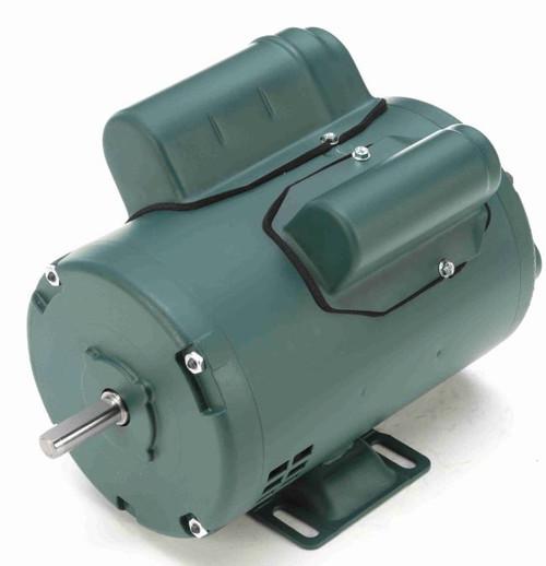 1/3 hp 1725 RPM 48 Frame 115/208-230V Open Drip Leeson Electric Motor # E100116