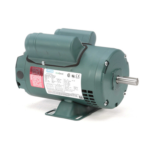 1/2 hp 1725 RPM 56 Frame 115/208-230V Open Drip Leeson Electric Motor# E100002