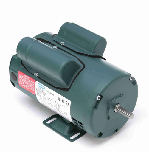 3/4 hp 3450 RPM 56 Frame 115/208-230V Open Drip Leeson Electric Motor # E100053