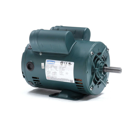 E119855.00 Leeson |  3/4 hp 1725 RPM 56 Frame 115/208-230 Volts Open Drip