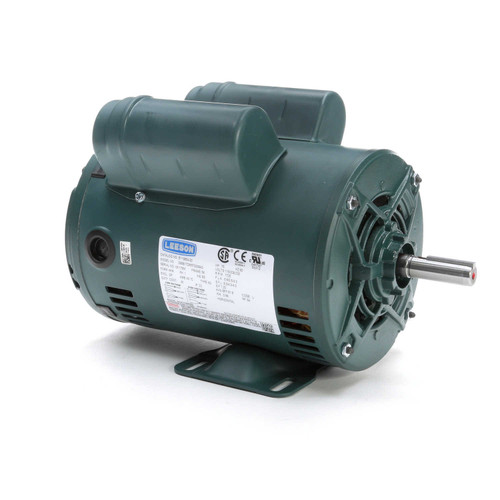 E119854.00 Leeson |  3/4 hp 1725 RPM 56 Frame 115/208-230 Volts Open Drip