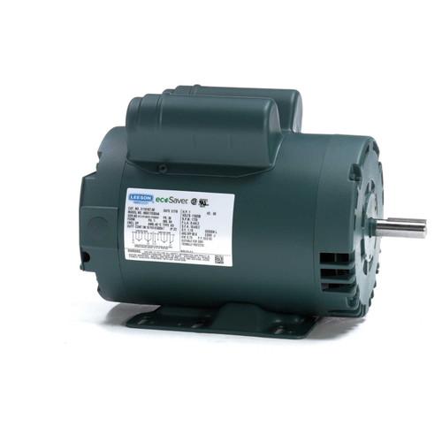 1 hp 1725 RPM 56 Frame 115/208-230V Open Drip Leeson Electric Motor # E110167