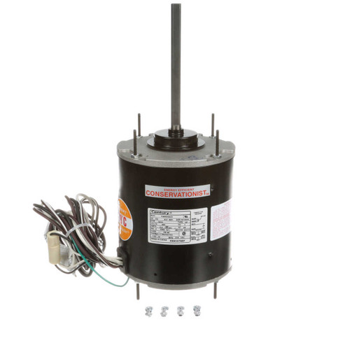 FEH1076SF Century 3/4 hp 1075 RPM, 1-Speed, 460V, 70°C Condenser Motor