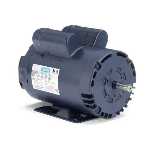 113266.00 Leeson |  1.5 hp 1725 RPM 56H Frame 115/208-230 Volts Open Drip