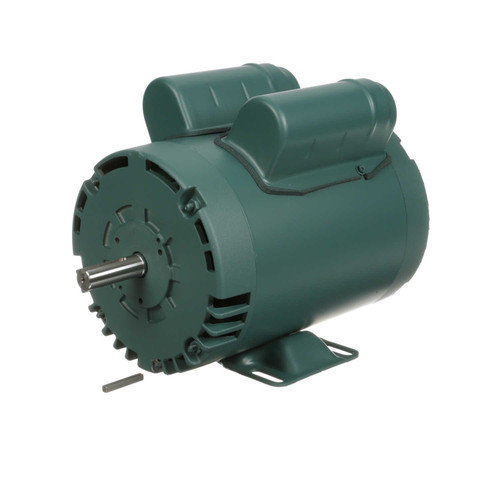2 hp 3450 RPM 56 Frame 115/208-230V Open Drip Leeson Electric Motor # E113632