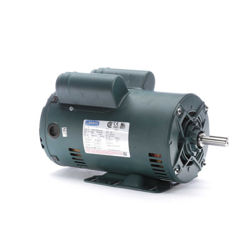 2 hp 1725 RPM 56H Frame 115/208-230V Open Drip Leeson Electric Motor # E116704