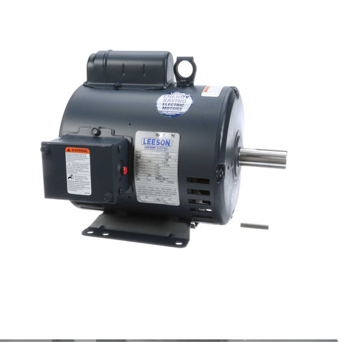 131536.00 Leeson |  2 hp 1725 RPM 182T Frame 115/208-230 Volts Open Drip